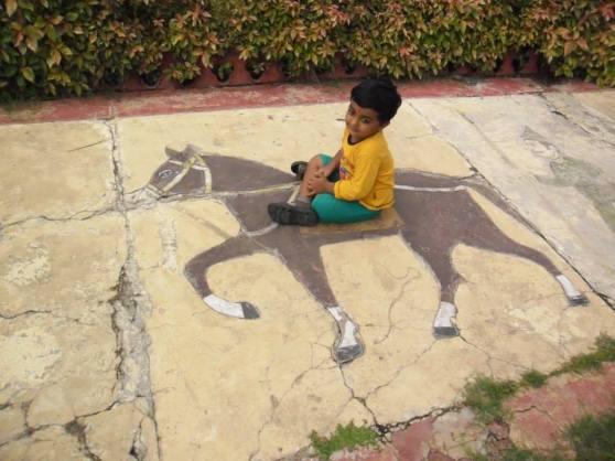 A horse rider - Wordless wednesday